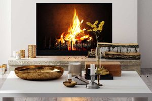 Do Vented Gas Fireplaces Need A Chimney? [Or how else to vent them]