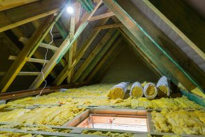 Can Attic Insulation Touch The Roof?