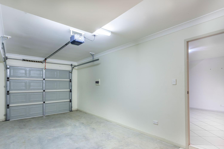 Empty single garage in home